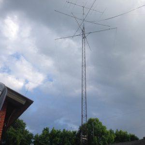 OZ7OX antennemast